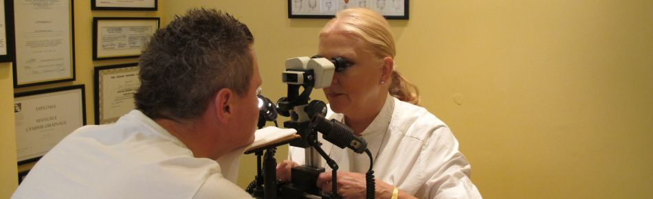 Iridology session in Birmingham
